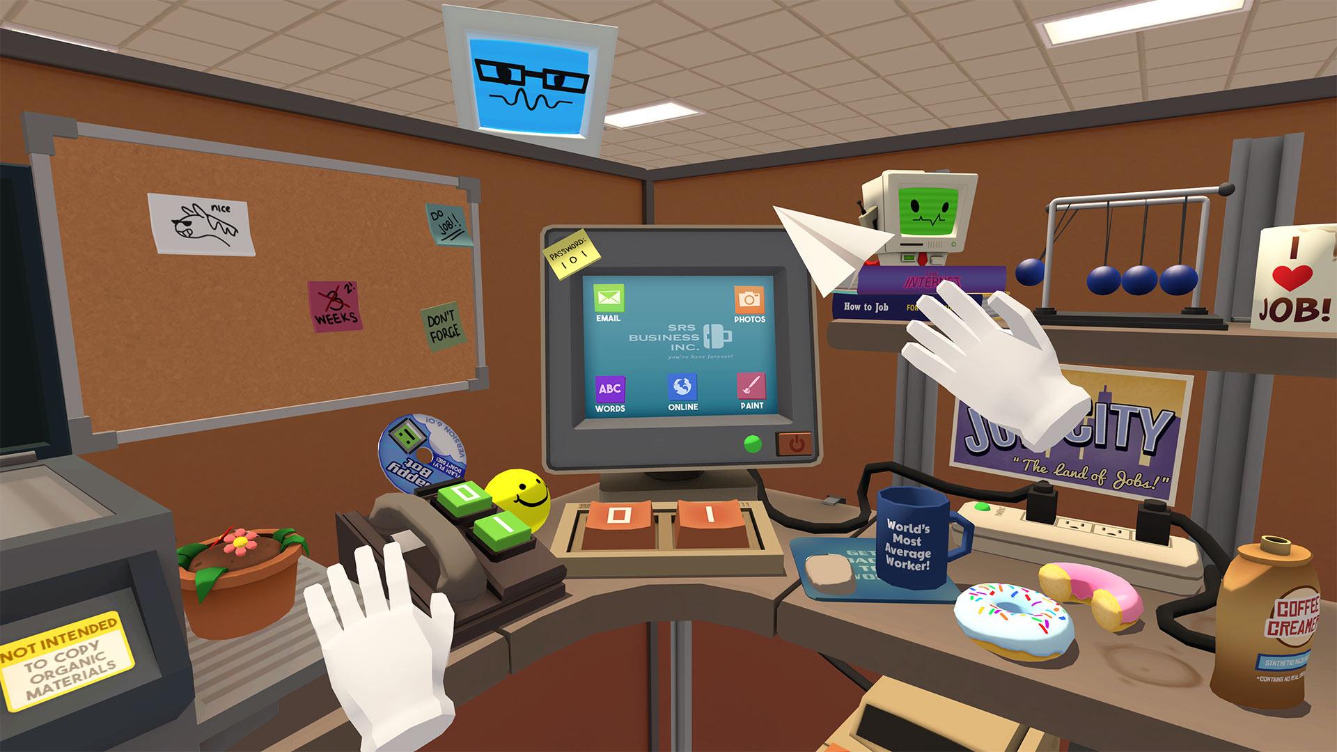 Скриншот №1 к Job Simulator