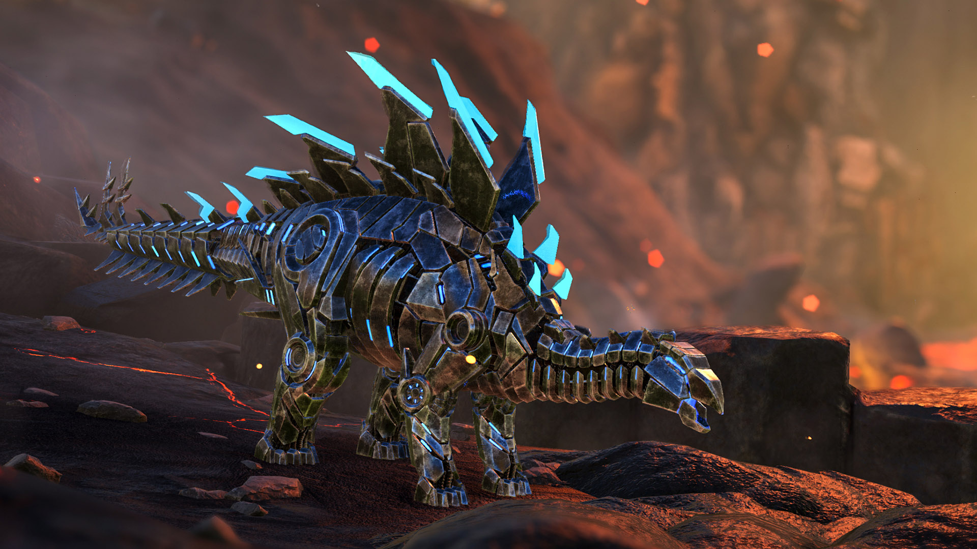 ARK: Survival Evolved Bionic Stegosaurus Skin op PS4 | Officiële PlayStation™Store Nederland