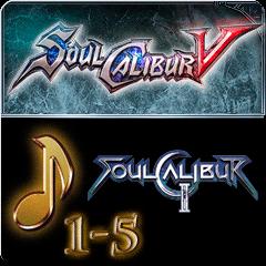 Набор загружаемой музыки 3 - SOULCALIBUR II