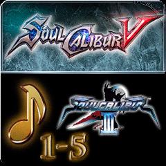 Набор загружаемой музыки 4 - SOULCALIBUR III