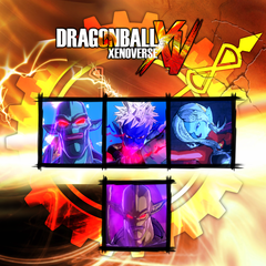 Dragon Ball Xenoverse  комплект GT 2 + Мира и Това