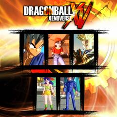 Dragon Ball Xenoverse  комплект GT 1
