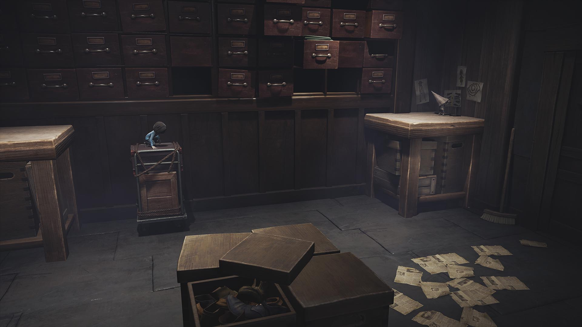 Скриншот №4 к Little Nightmares The Hideaway DLC