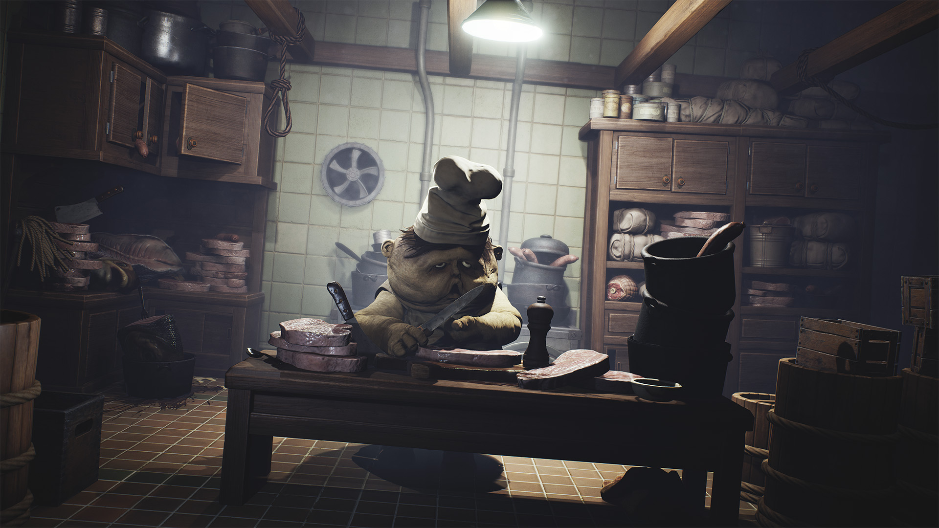 Скриншот №3 к Little Nightmares