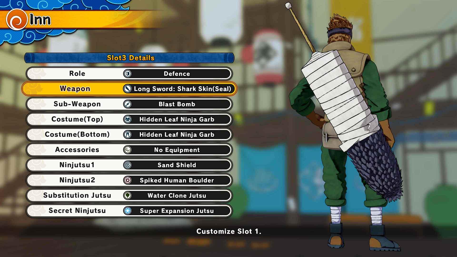 Скриншот №2 к NARUTO TO BORUTO SHINOBI STRIKER