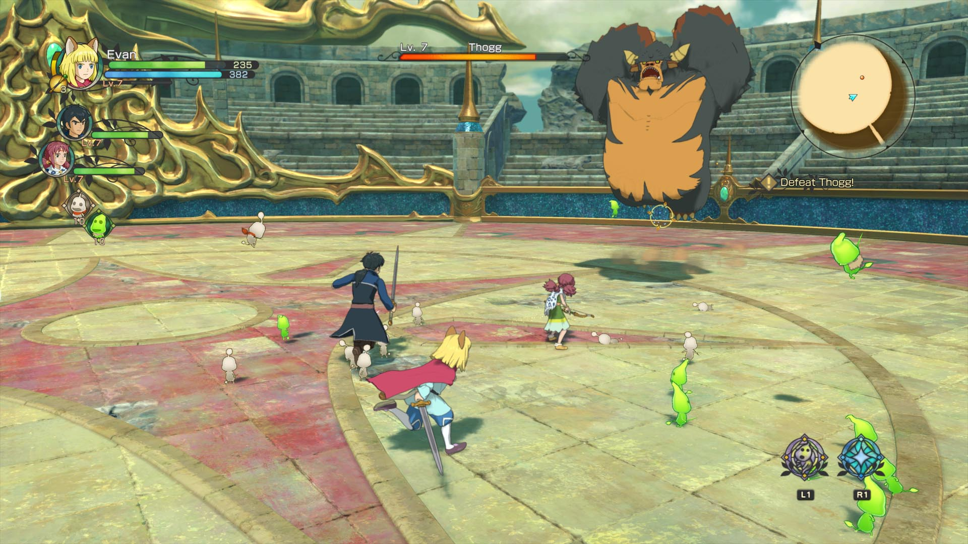 Скриншот №4 к Ni no Kuni II Revenant Kingdom