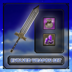 Evolved Weapon set