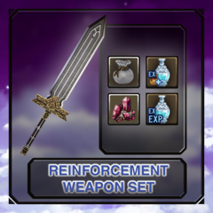 Weapons & Protective Gear Reinforcement Set