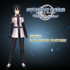 Kirito SAO Movie Costume