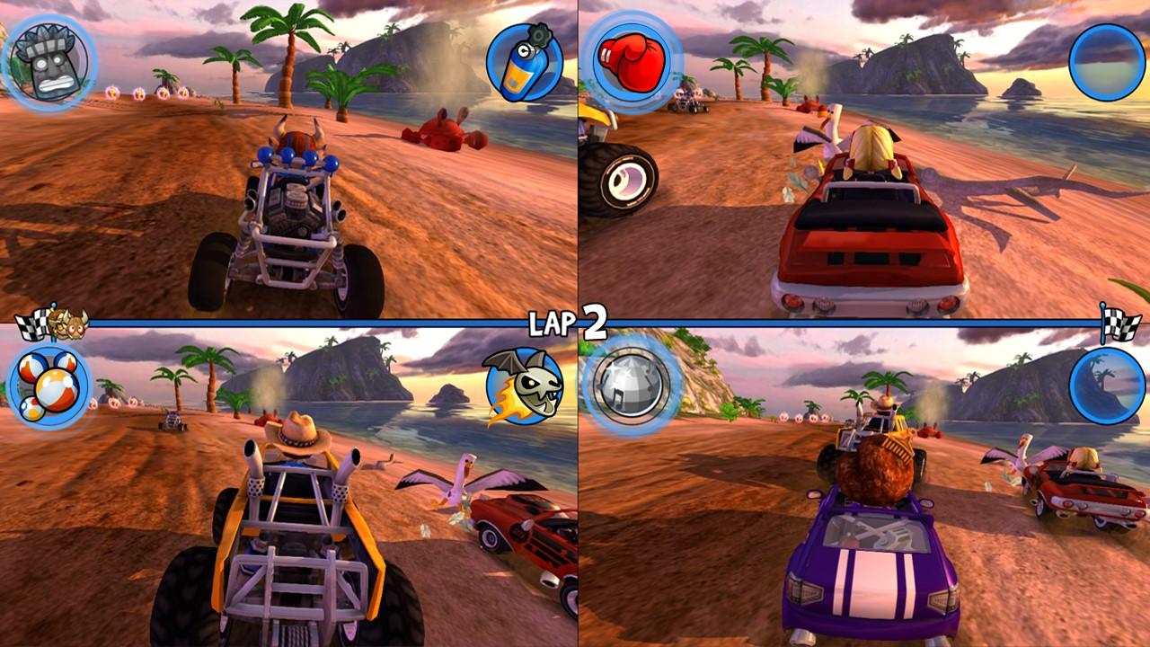 Скриншот №3 к Beach Buggy Racing