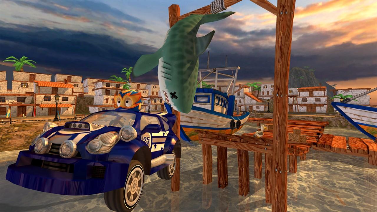 Скриншот №4 к Beach Buggy Racing