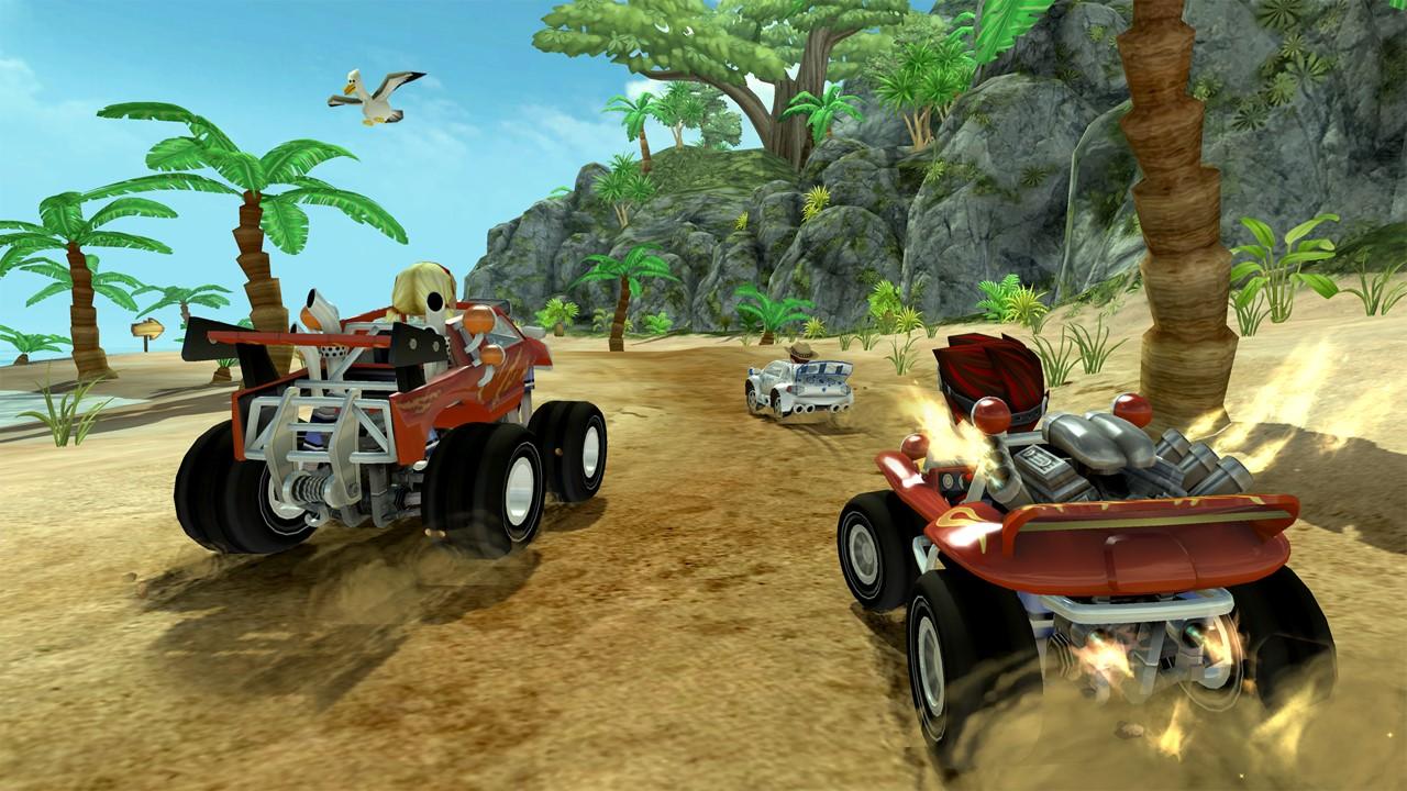 Скриншот №1 к Beach Buggy Racing