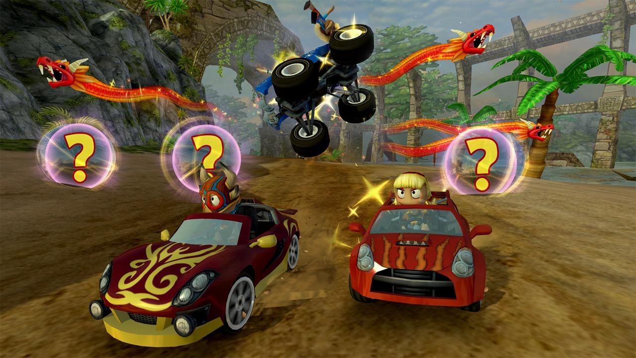 Скриншот №2 к Beach Buggy Racing