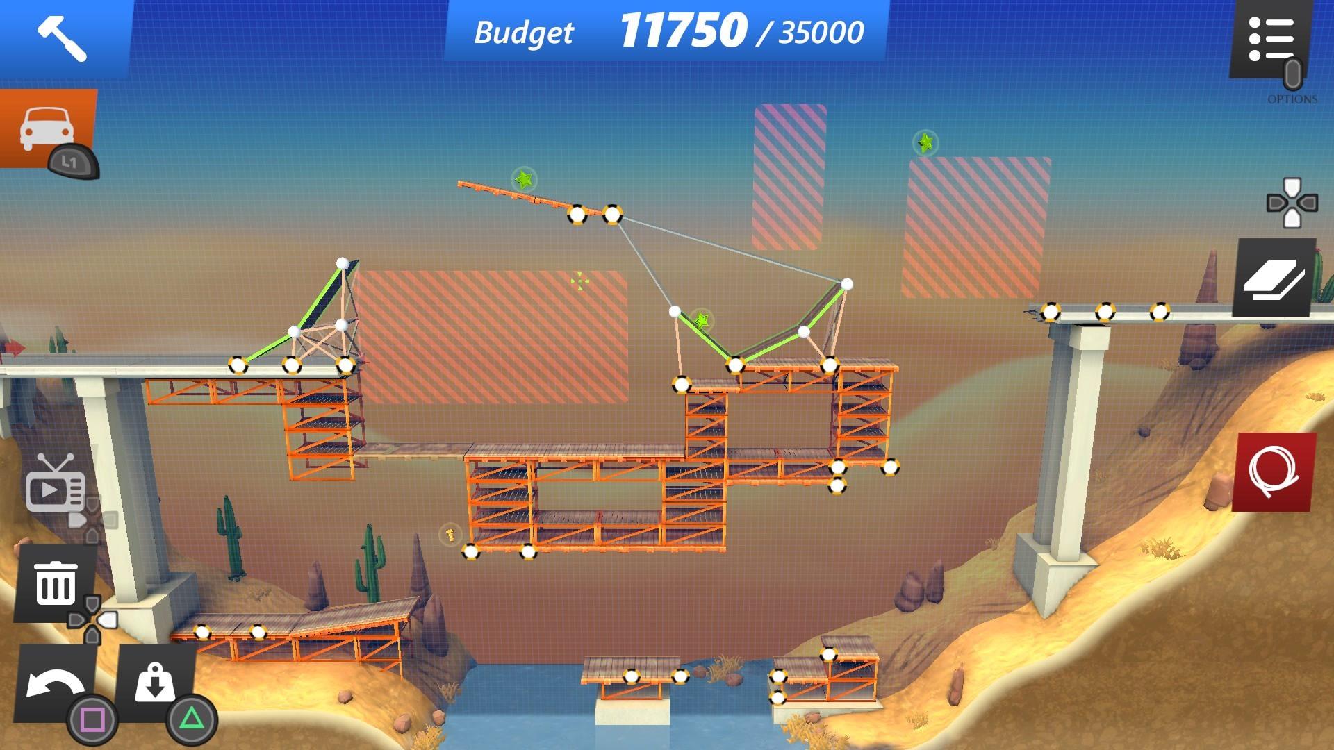 Скриншот №3 к Bridge Constructor Stunts