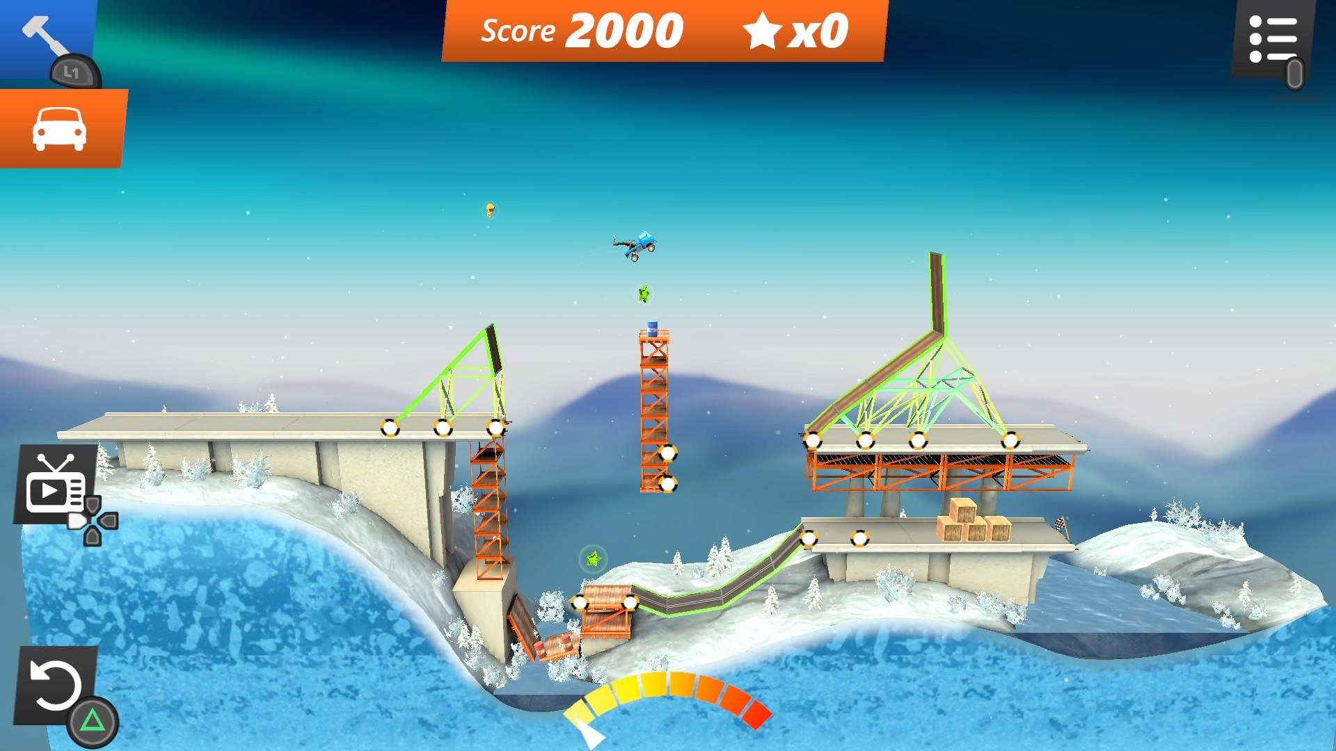Скриншот №5 к Bridge Constructor Stunts