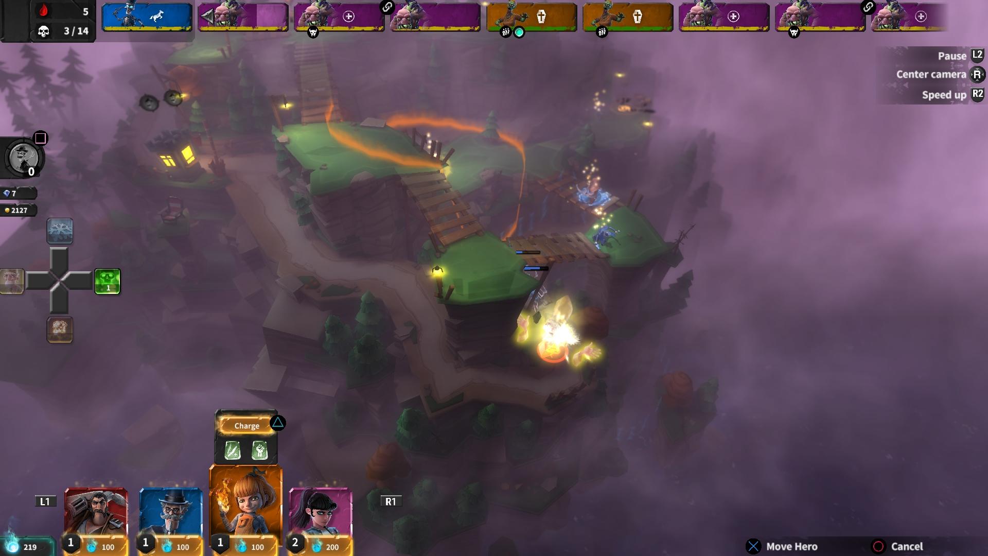 Hero Defense скриншот 2