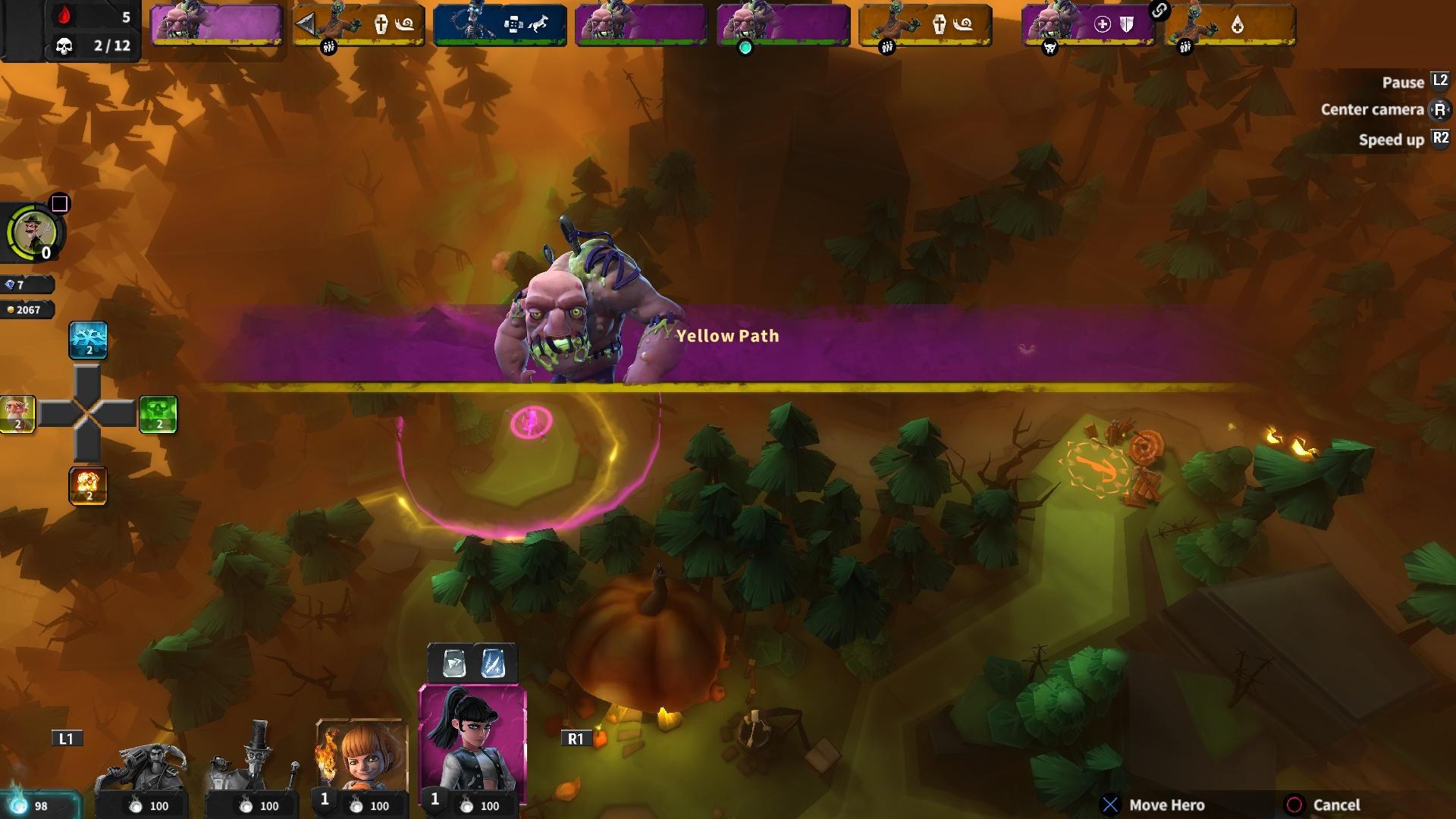 Hero Defense скриншот 3