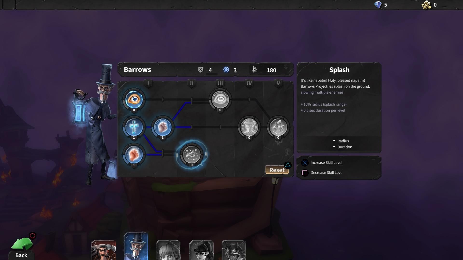 Hero Defense скриншот 4