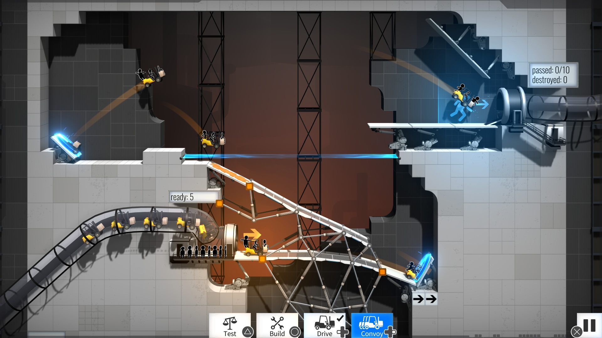 Скриншот №5 к Bridge Constructor Portal