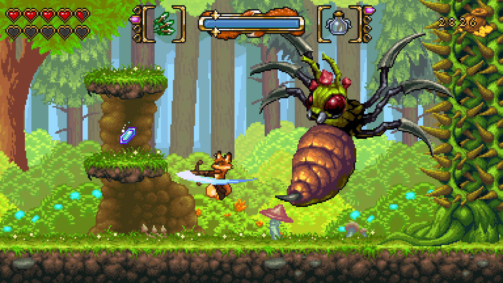FOX n FORESTS скриншот 1
