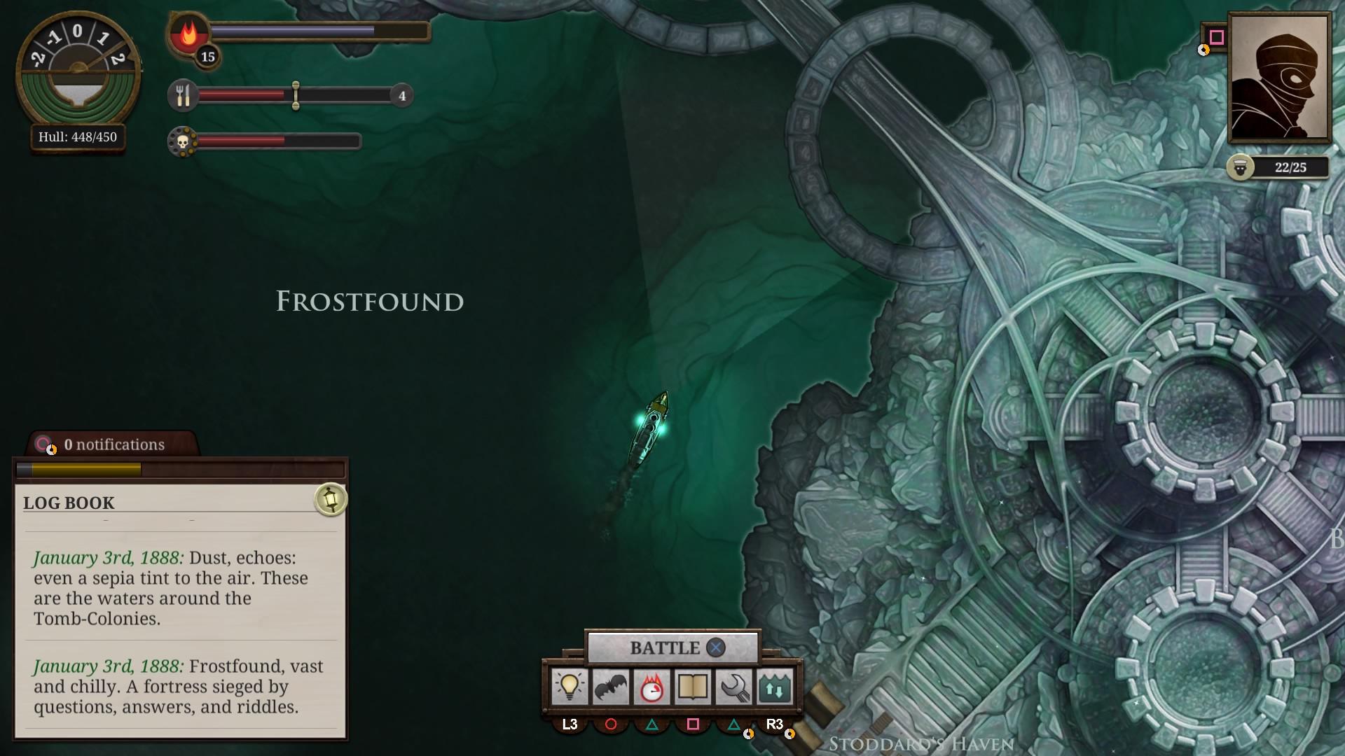 Sunless Sea: Zubmariner Edition скриншот 1