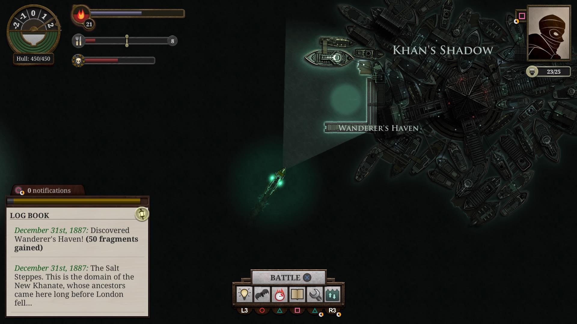Sunless Sea: Zubmariner Edition скриншот 10