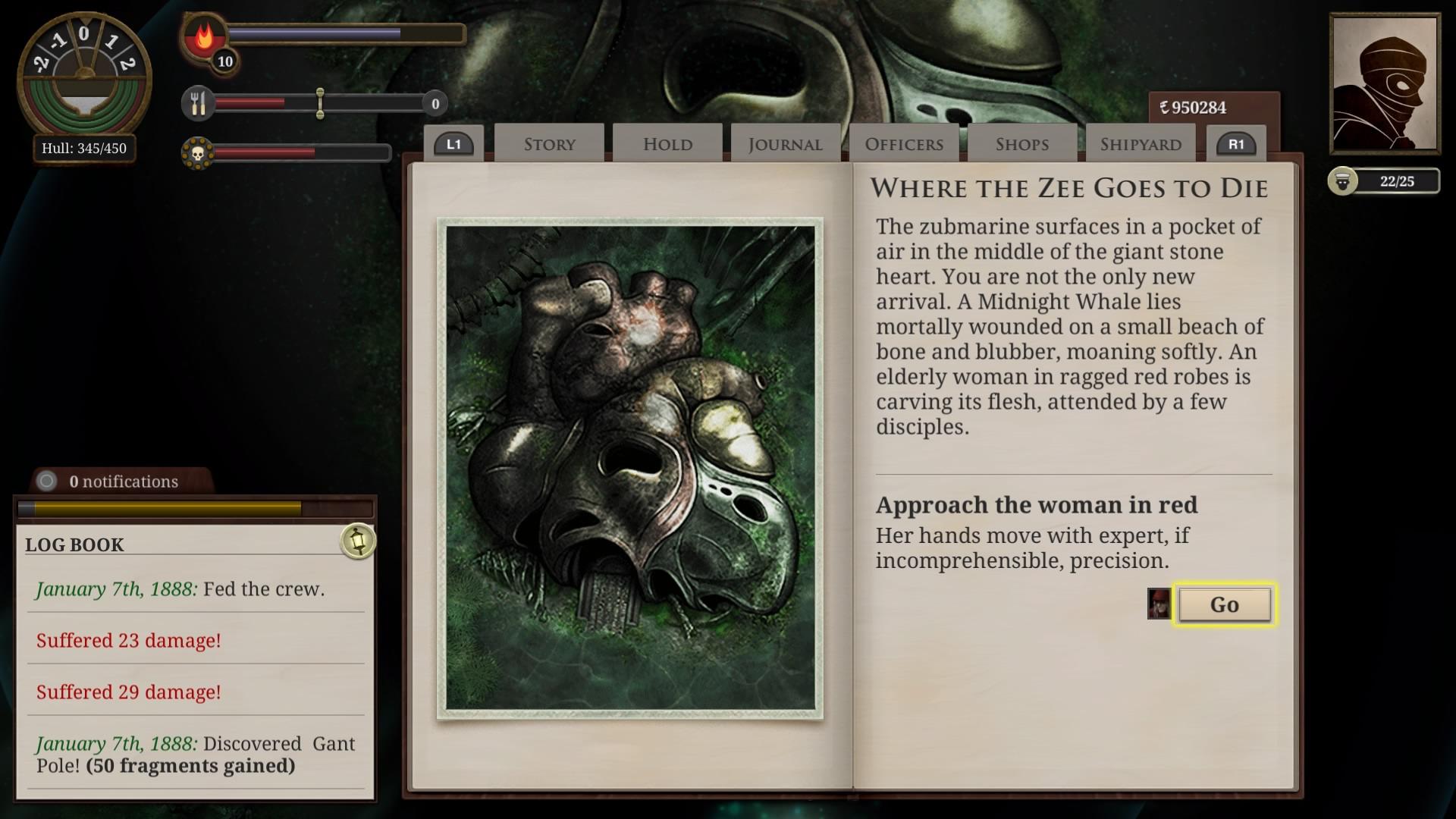 Sunless Sea: Zubmariner Edition скриншот 8