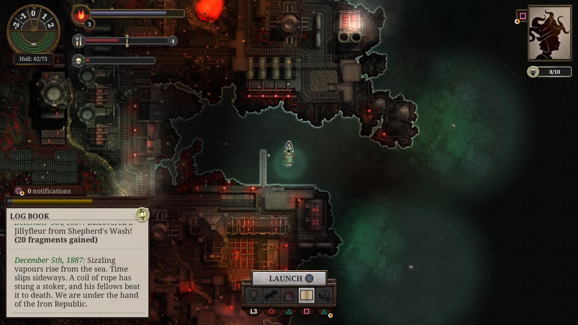 Sunless Sea: Zubmariner Edition скриншот 7