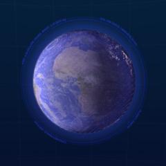VEV Azure Earth Holographic // Bonus Stage Dynamic Theme