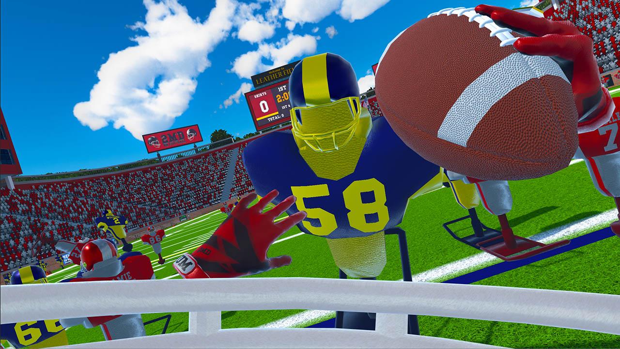 Скриншот №1 к 2MD VR Football Head 2 Head Edition