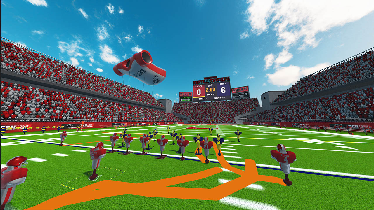 Скриншот №2 к 2MD VR Football Head 2 Head Edition