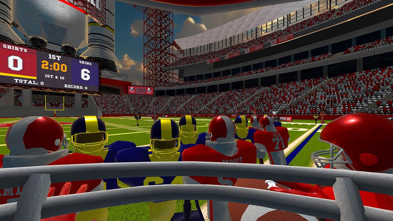 Скриншот №3 к 2MD VR Football Head 2 Head Edition