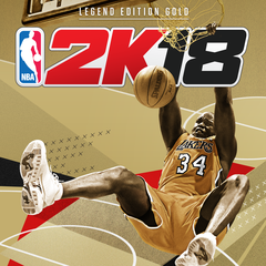 NBA 2K18 Legend Edition Or - Précommande