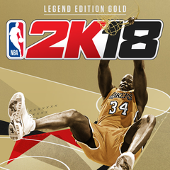 NBA2K18 Legend Edition Or