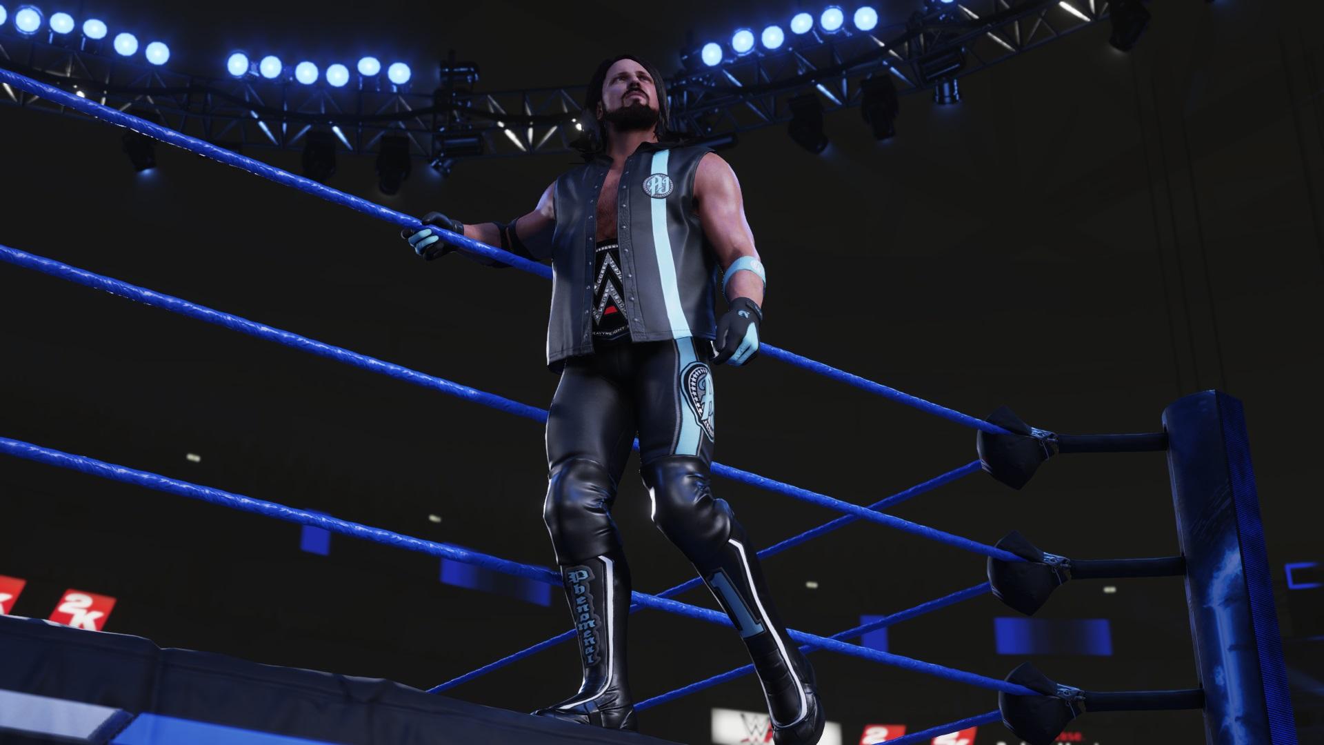 Скриншот №1 к WWE 2K19