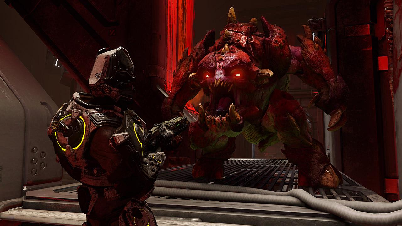 Скриншот №1 к DOOM Bloodfall