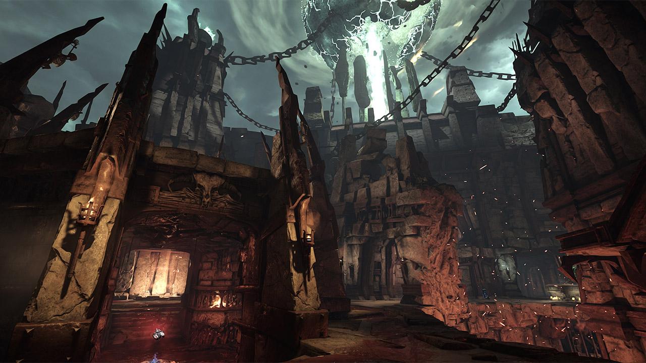 Скриншот №1 к DOOM Unto the Evil