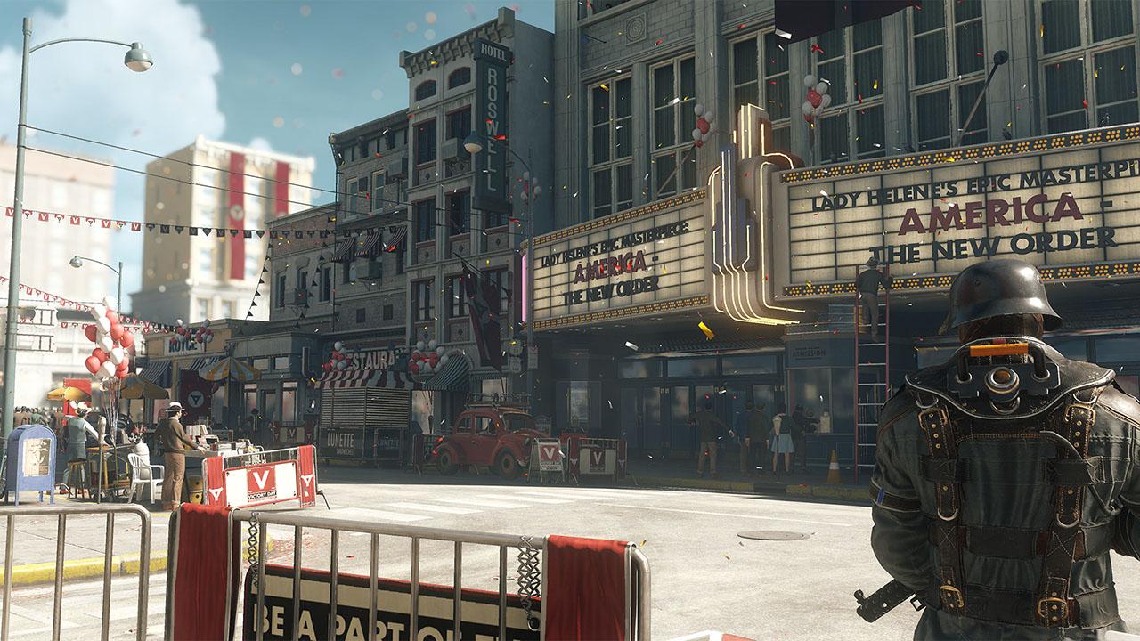 Скриншот №1 к Wolfenstein II The New Colossus Deluxe Edition CUSA07378