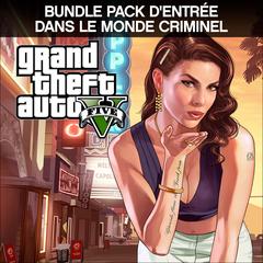 Bundle GTAV + Pack d'entrée dans le monde criminel