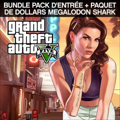 Bundle GTAV, Pack d'entrée + paquet de dollars Megalodon Shark
