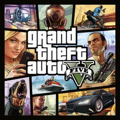 Комплект  Grand Theft Auto V и платежная карта Мегалодон