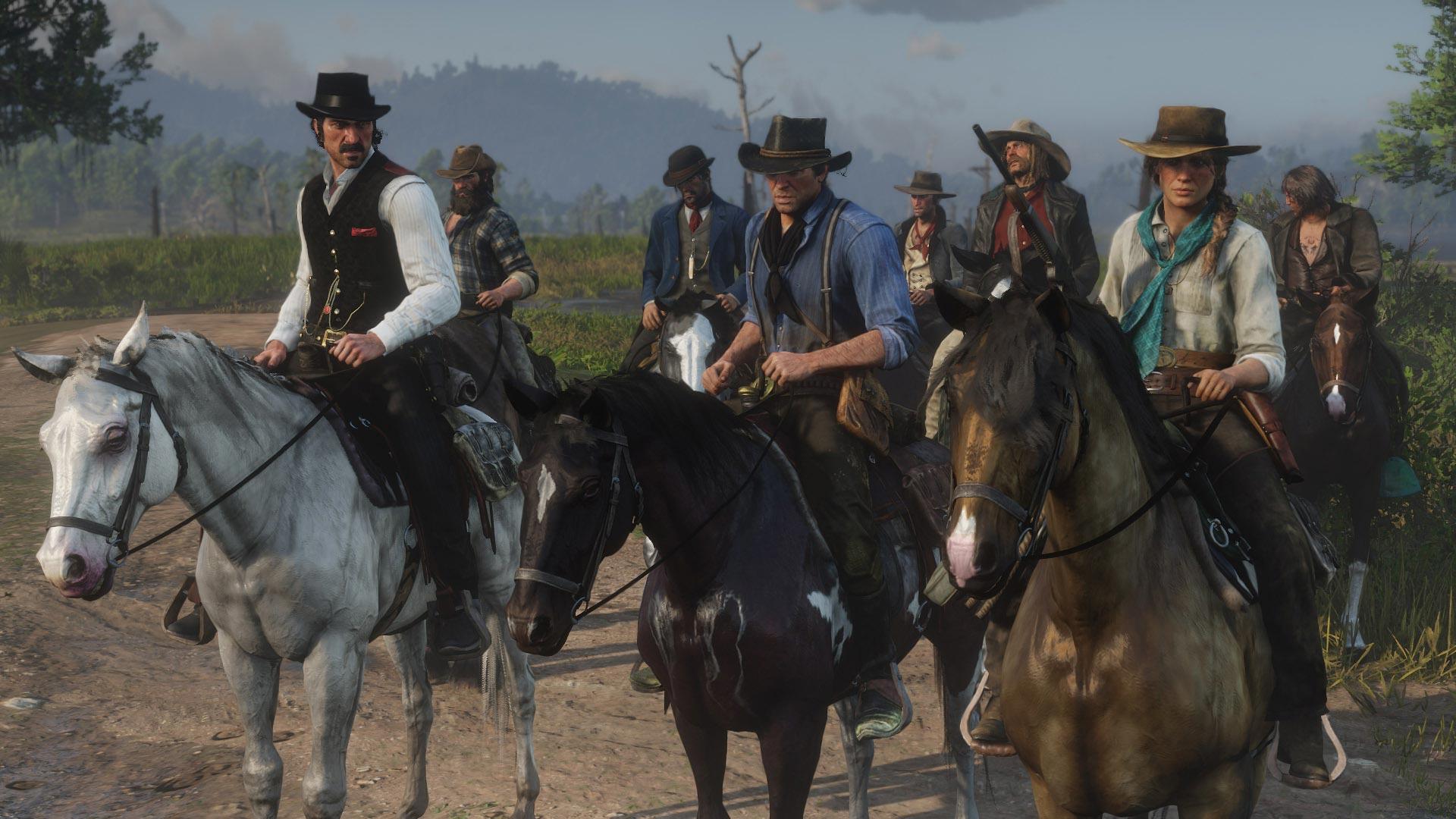 Прокат Red Dead Redemption 2 на PS4