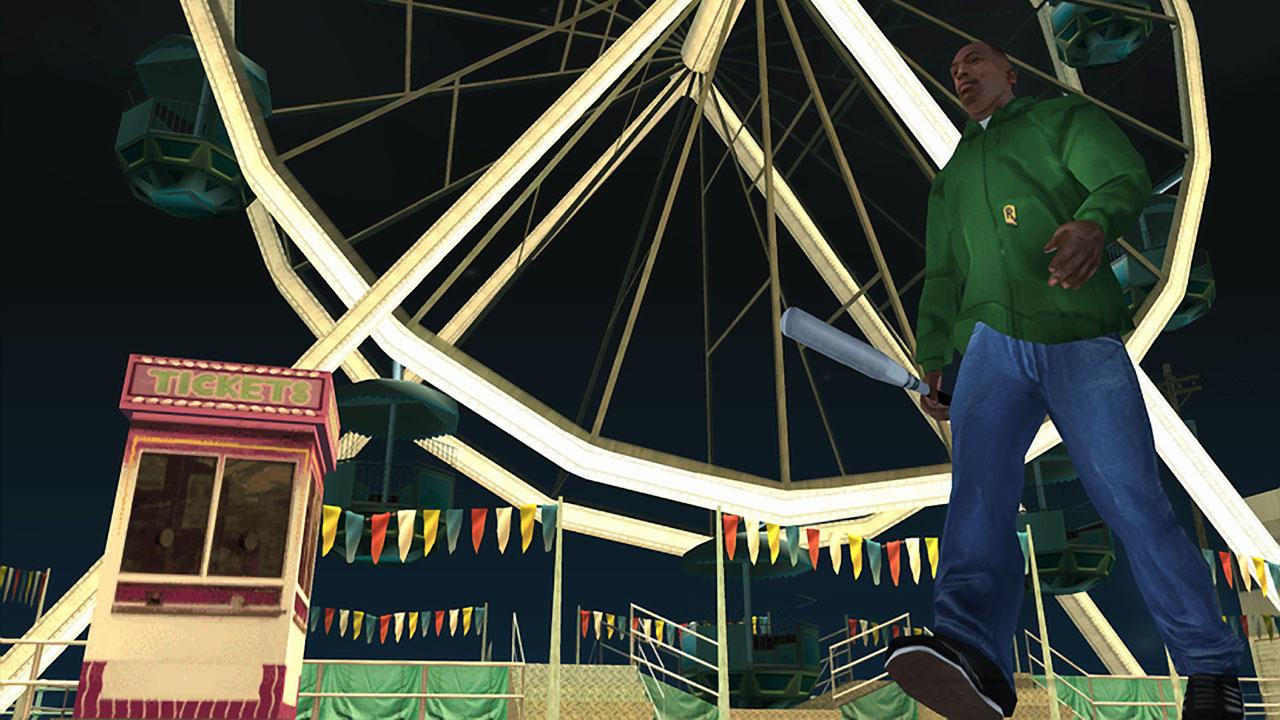 Скриншот №5 к Grand Theft Auto San Andreas