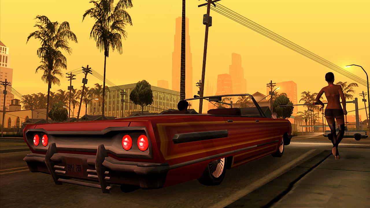 Скриншот №8 к Grand Theft Auto San Andreas