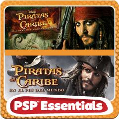Pack doble para PSP de Piratas del Ca