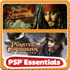 PSP Pirates Double Pack