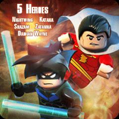LEGO® Batman™ 2:  DC Super Heroes - 5 Supereroi