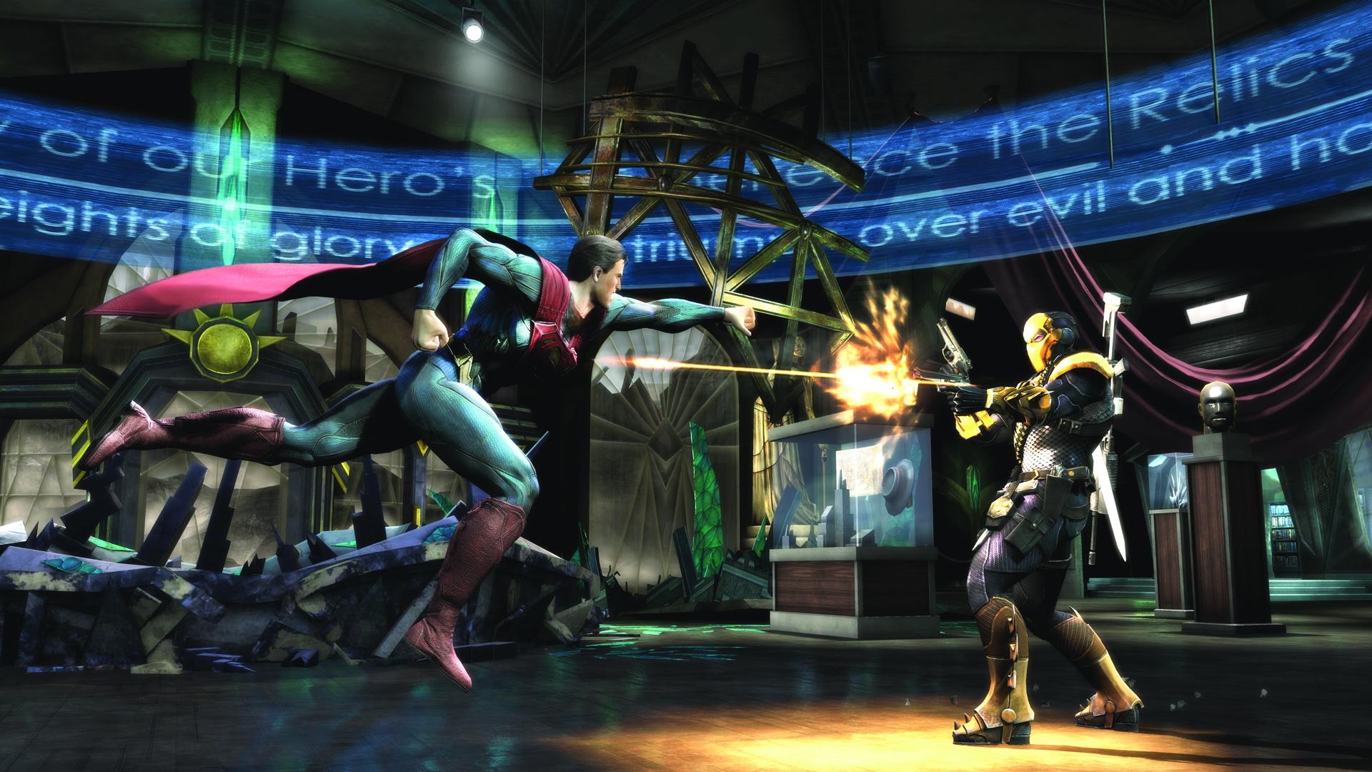 Скриншот №6 к Injustice Gods Among Us Самое полное издание