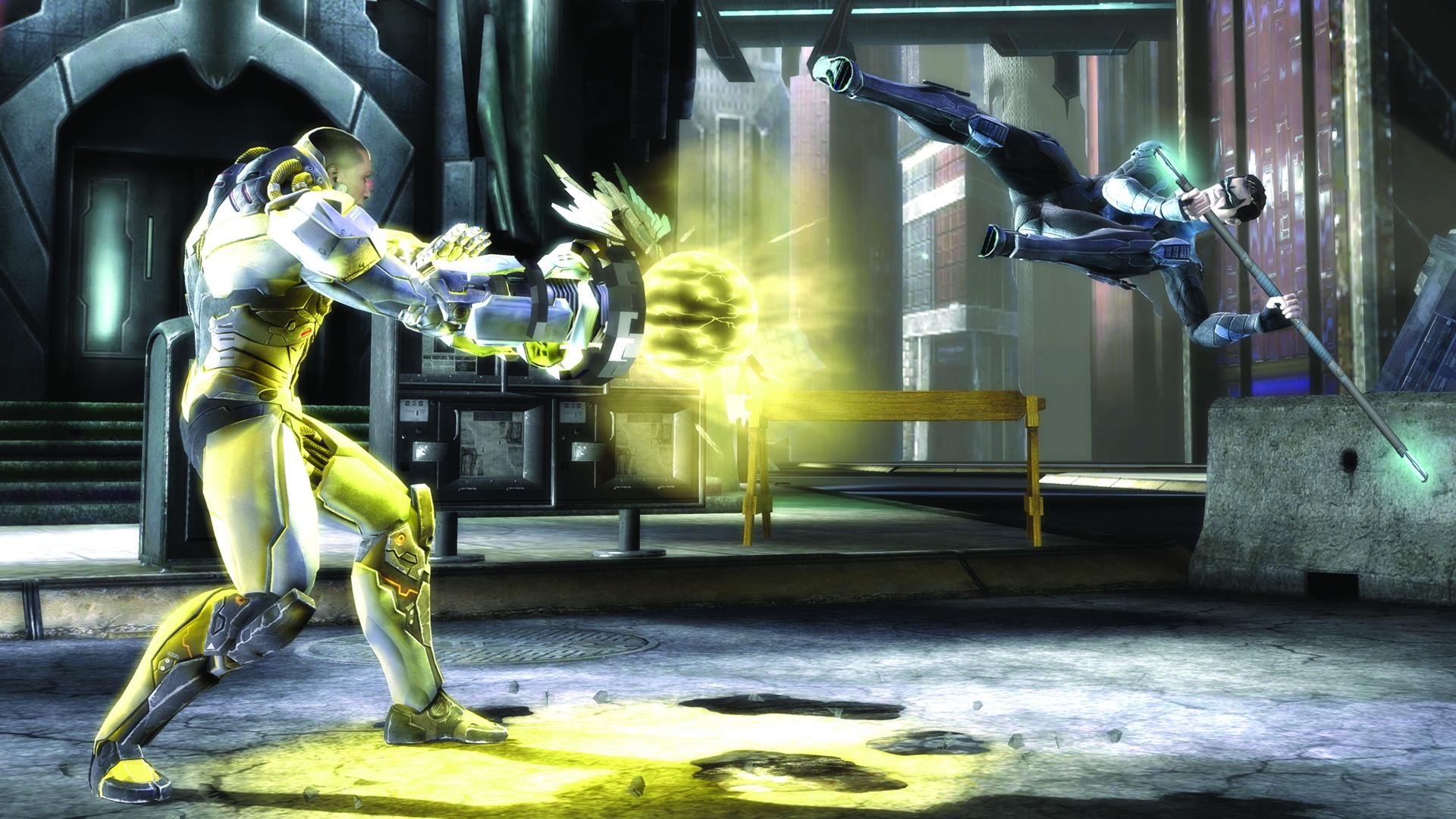 Скриншот №7 к Injustice Gods Among Us Самое полное издание