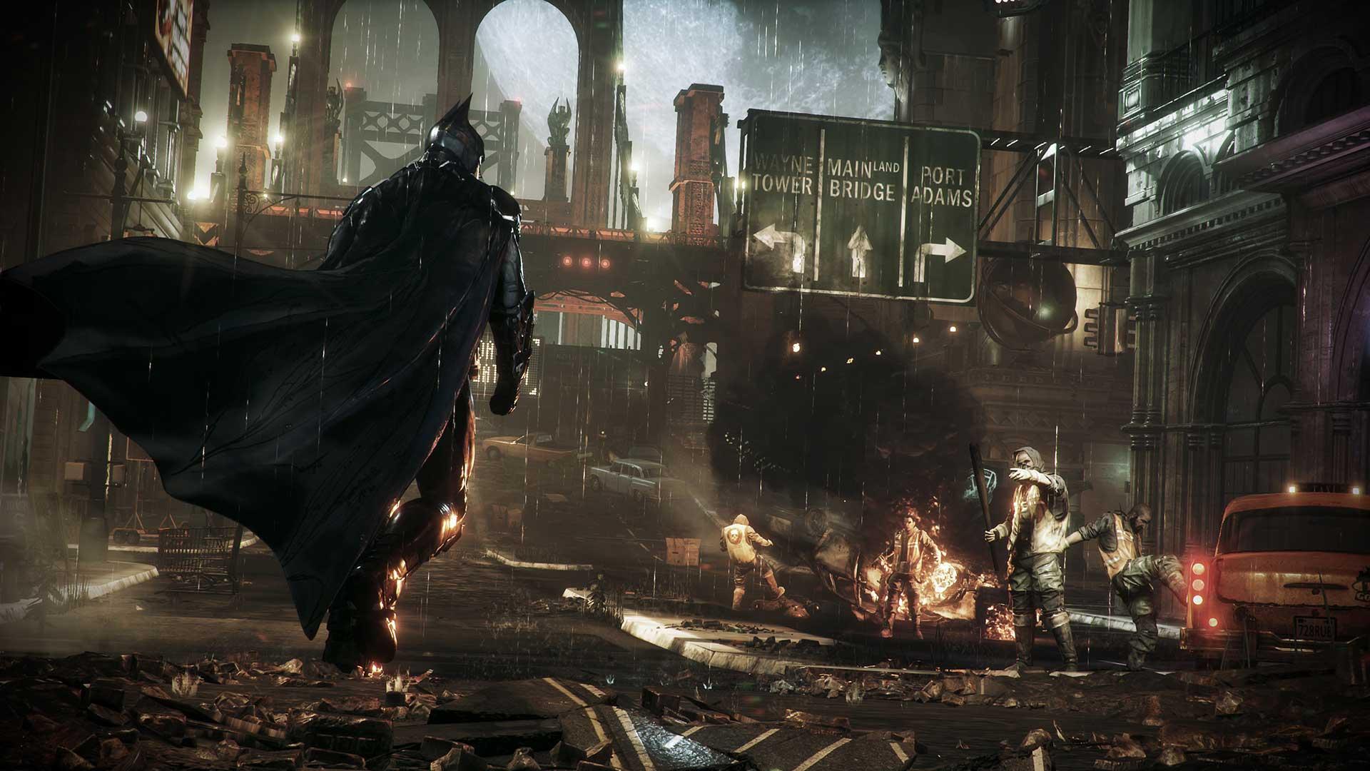 Скриншот №8 к Batman Arkham Knight